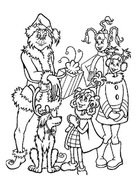 whoville coloring pages free printable grinch coloring pages for kids