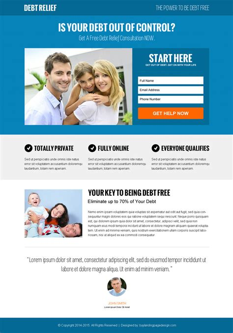 landing page design template modern landing page design templates to boost your leads