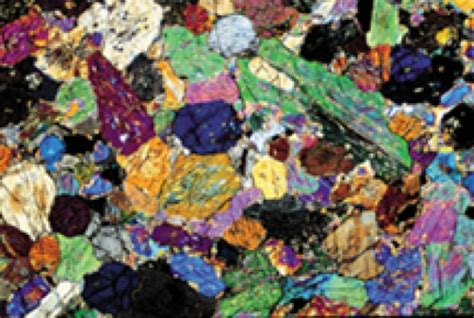 atlas of rock forming minerals in thin section a color atlas of rocks and minerals in thin section