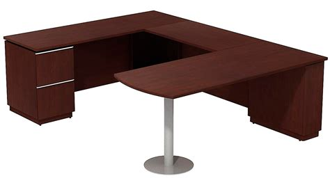 Peninsula Desk Office Furniture Bbf Left Peninsula Desk U Station Zuri Furniture