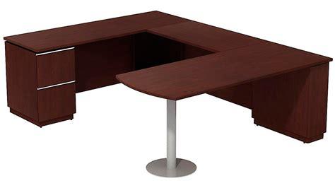 Bbf Milano Left Hand Peninsula Desk U Station Zuri Furniture Peninsula Desk Office Furniture