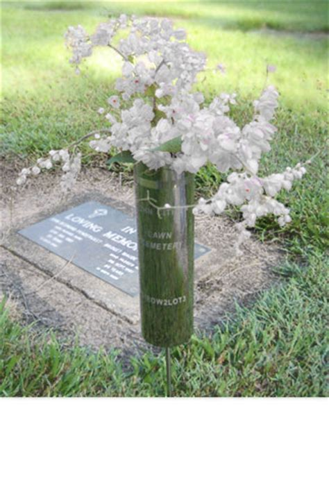 Cemetery Vases In Ground by Cemetery Vases R Dunn Sons Murwillumbah