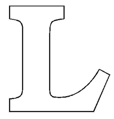 letter l template letter l template best letter exles