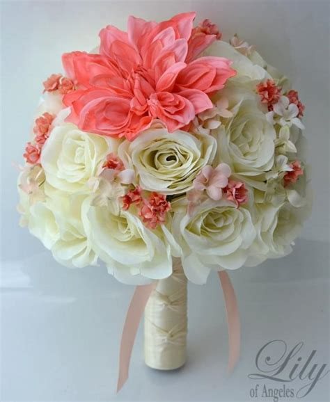 Silk Flower Wedding Bouquets by Silk Flower Wedding Bouquet Silk Wedding Arrangements
