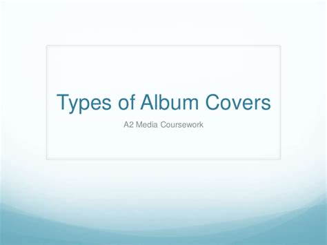types of slipcovers types of album covers