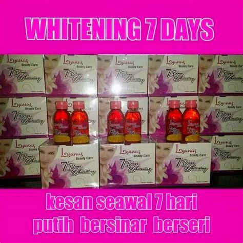 Gluta Drink Ori 7days whitening ori arsyana kosmetik hazni zahril
