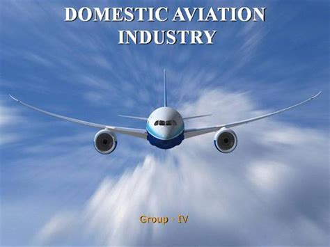 Aviation Industry Authorstream Powerpoint Templates Airline Industry