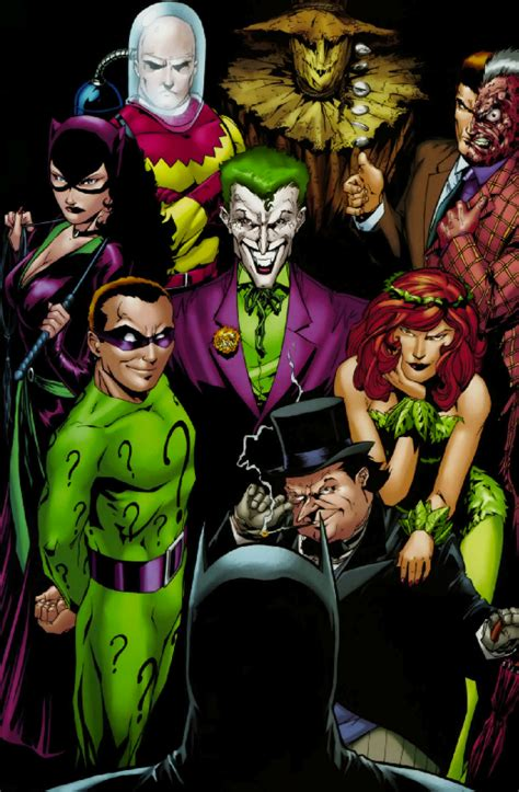 The Adventures Batman And Robin Rogues Gallery a comic odyssey building a rogues gallery