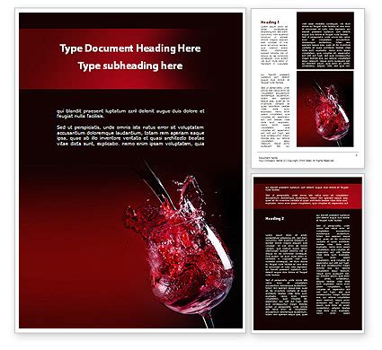 Wine Brochure Template Free by Fantastic Wine Word Template 09503 Poweredtemplate