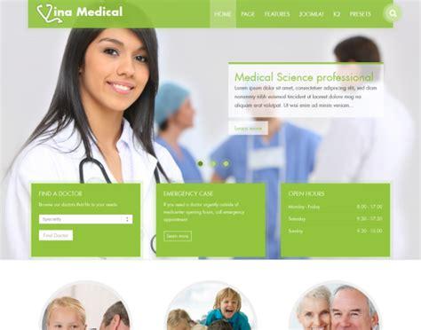 Vina Medical Ii Medical Health Responsive Template Assistant Brochure Templates