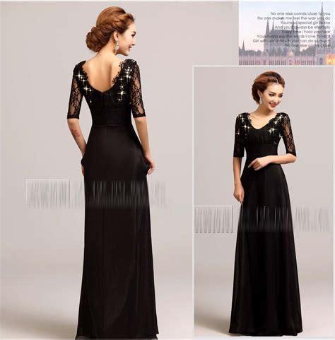 Midi Dress Gaun Pesta Baju Pesta Import D3913 4 5 Mf jual baju gaun pesta hitam wedding pernikahan
