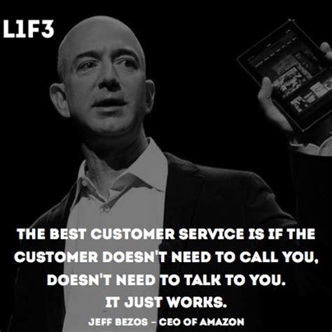 amazon quote jeff bezos on customer service quotes quotesgram