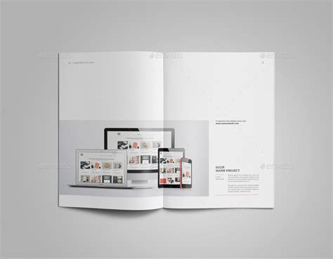 clockworklives portfolio page layouts graphic design portfolio template by adekfotografia
