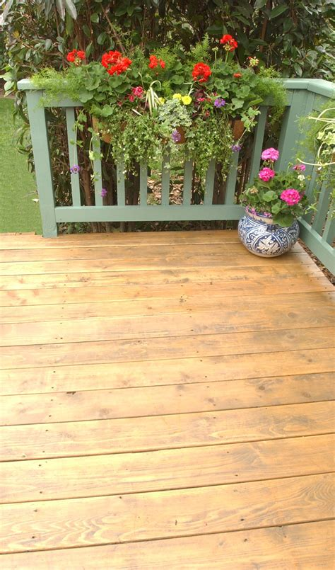deck   thompsons water seal advanced wood