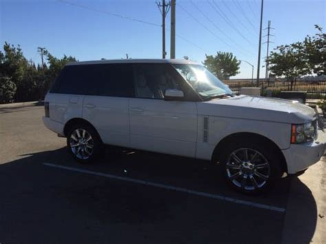 how to sell used cars 2008 land rover range rover windshield wipe control purchase used 2008 range rover hse supercharged in fresno california united states