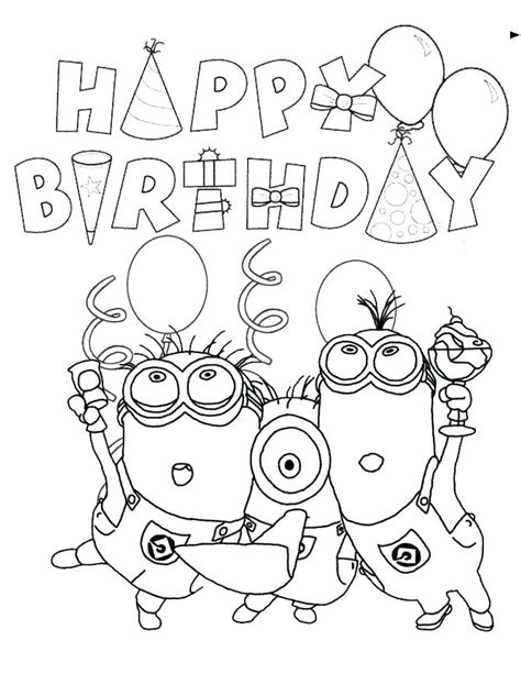 halloween happy birthday coloring pages crayola happy birthday coloring pages jovie co