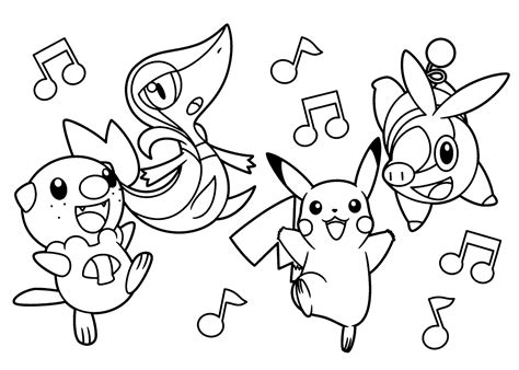 free printable coloring pages of pokemon black and white free pokemon coloring pages for kids 2016