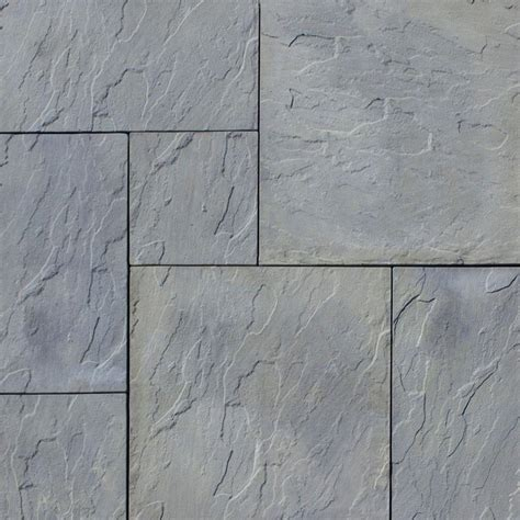 Home And Patio Decor by Nantucket Pavers Patio On A Pallet 120 In X 120 In Gray