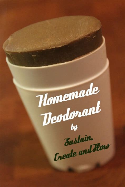 Handmade Deodorant - top 10 diy deodorants and