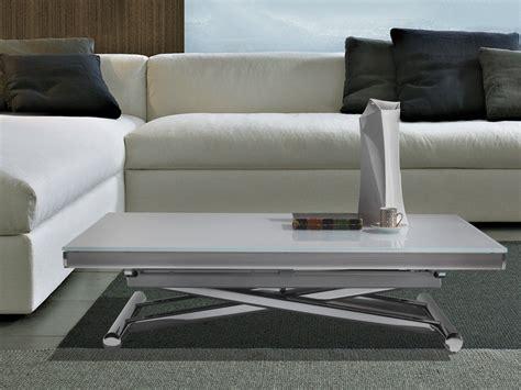 tavolo trasformabile sofast tavolino da salotto salvaspazio trasformabile in