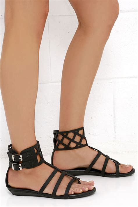 coconuts archie sandals black sandals gladiator