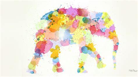 colorful elephant wallpaper colorful elephant wallpapers colorful elephant stock photos