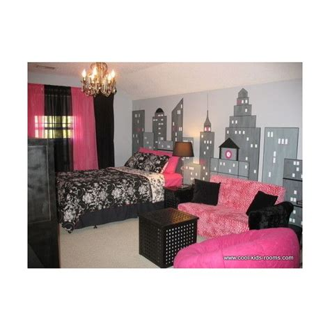 pink black white damask bedroom polyvore 57 best images about pink black and white girls bedroom
