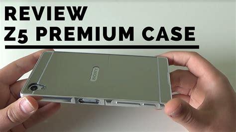 Sony Xperia Z5 Aluminium Bumper Back Mirror Casing Cover nl review aluminium frame mirror back 4 voor