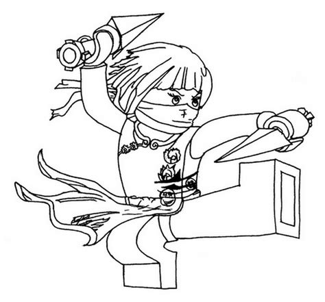 free coloring pages of lloyd golden lego ninjago