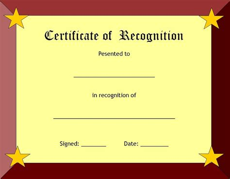 how to create a certificate template blank certificate templates kiddo shelter