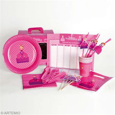 set de bureau fille diy un anniversaire de princesse pour fille
