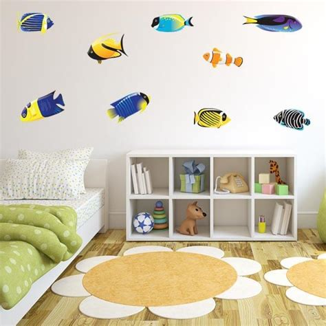 wall stickers fish tropical fish wall decals fish stickers for walls