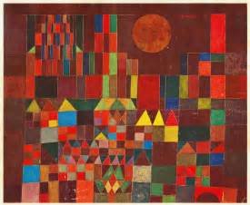 Artists Cool Kid Facts Castle And Sun By Paul Klee Facts History Of The Painting