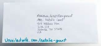an encouraging letter to natalie grant