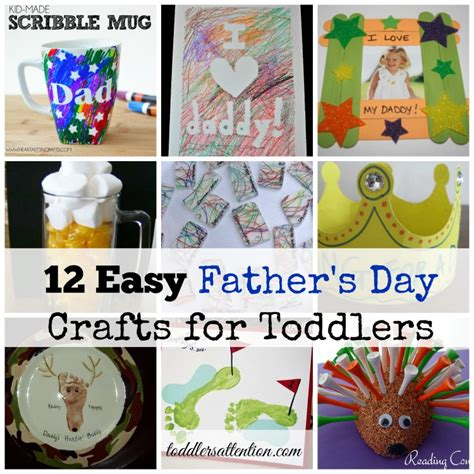 s day projects for toddlers 12 easy father s day crafts for toddlers