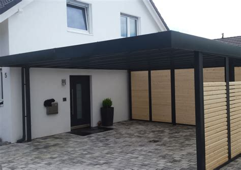 Car Port Designs by Carport Aus Stahl In Ma 223 Anfertigung Carportmaster