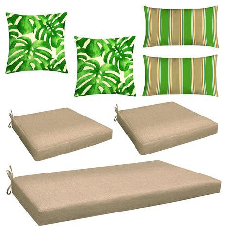 Home Depot Chair Cushions - lounge chair cushions outdoor chair cushions the home