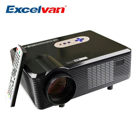 excelvan cl720 projector 3000 lumens hd home theater