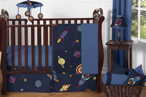 Space Crib Set by Space Galaxy Baby Bedding 11pc Crib Set By Sweet Jojo