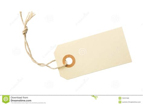 blank paper label tag stock image image of greeting
