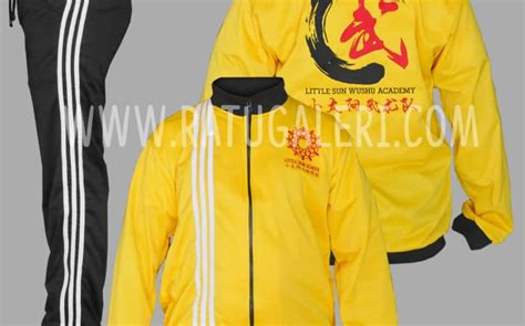 desain baju wushu konveksi surabaya pabrik jaket seragam topi dan kaos