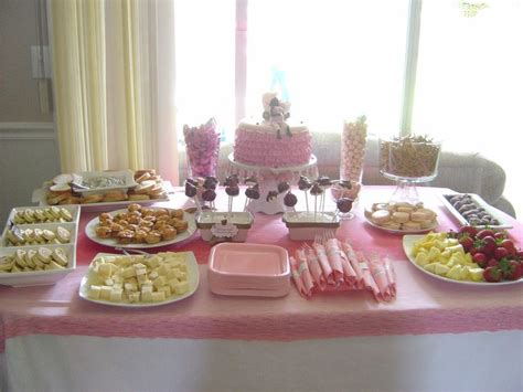 table setup for a baby shower saturday june 05 2010 baby shower ideas pinterest lady