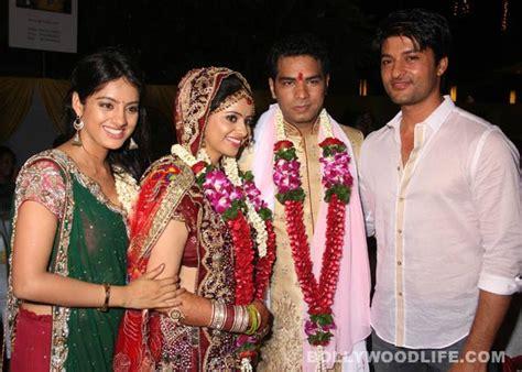 deepika singh sister wedding pics unseen pic anas cast deepika s sister s wedding