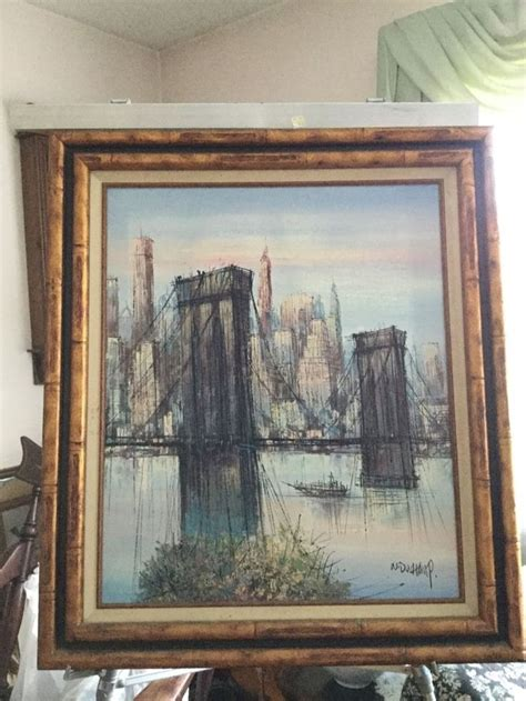 H Painting by Details About H Duch Original Early Painting Of The