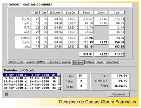 clculo cuotas obrero patronales imss 2016 calculo manual de las cuotas obrero patronales rutrackerar