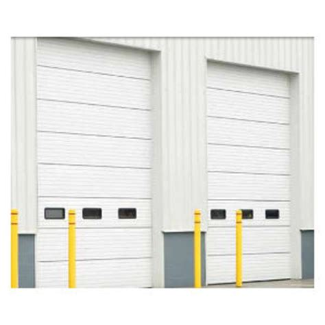 energy saving garage door sectional insulated sectional and coiling overhead garage doors authority dock door