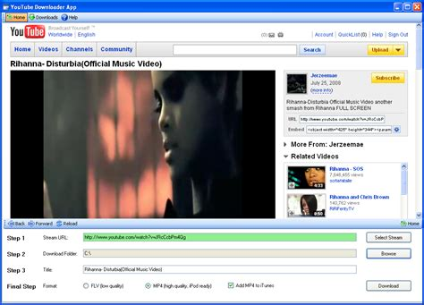 download youtube video ipod video downloader from youtube download films from