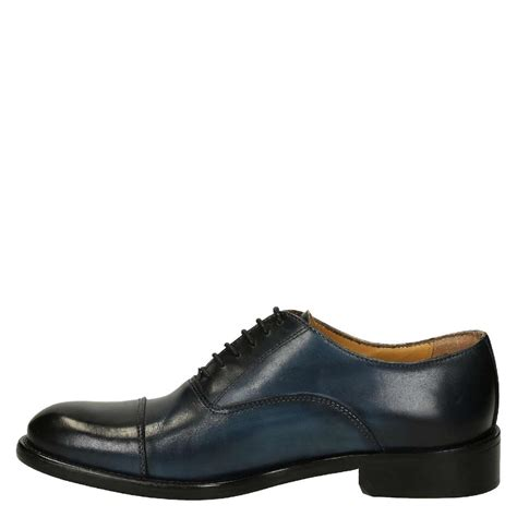 oxfords shoes blue delav 233 calf leather s plain cap toe oxfords shoes
