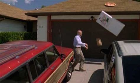 buying a house with a bad roof fans have started throwing pizza on walter white s roof and the owner isn t happy