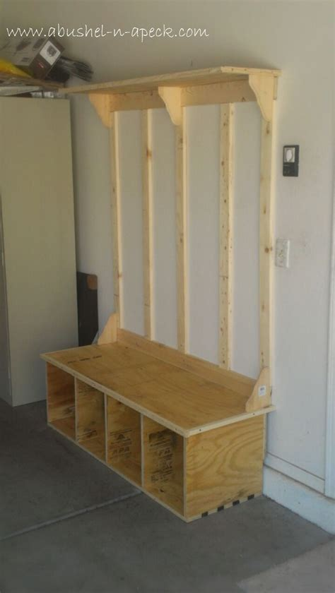 entry way bench plans build shoe storage bench woodworking projects plans